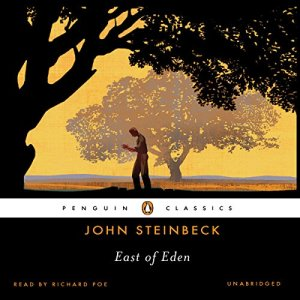 East of Eden audiobook cover art