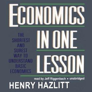 Economics in One Lesson audiobook cover art