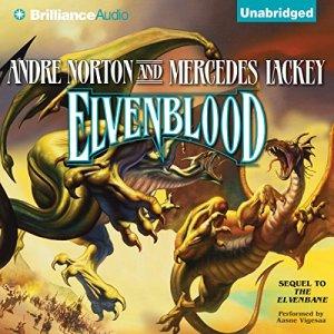 Elvenblood audiobook cover art