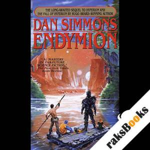 Endymion  audiobook cover art