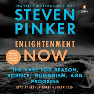 Enlightenment Now audiobook cover art