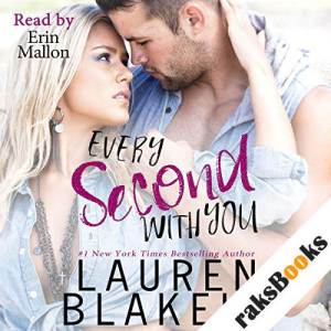 Every Second with You audiobook cover art