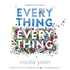 Everything, Everything audiobook cover art