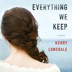 Everything We Keep audiobook cover art