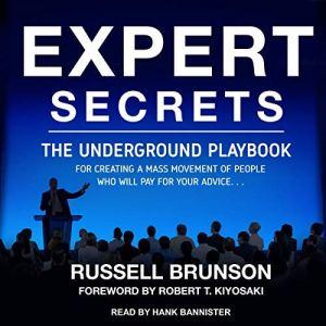 Expert Secrets audiobook cover art