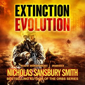 Extinction Evolution audiobook cover art
