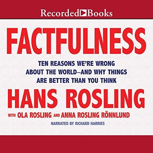 Factfulness audiobook cover art