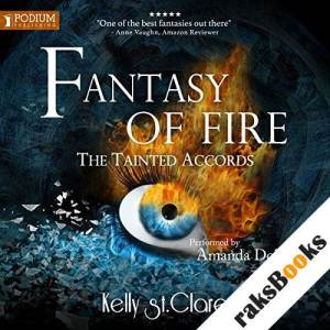 Fantasy of Fire audiobook cover art