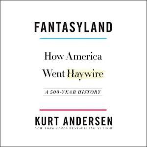 Fantasyland audiobook cover art