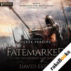 Fatemarked audiobook cover art