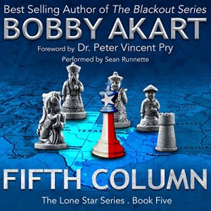 Fifth Column audiobook cover art