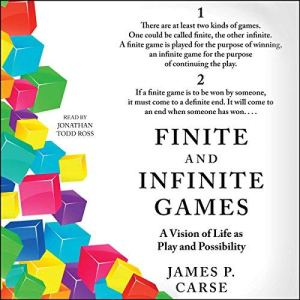 Finite and Infinite Games audiobook cover art