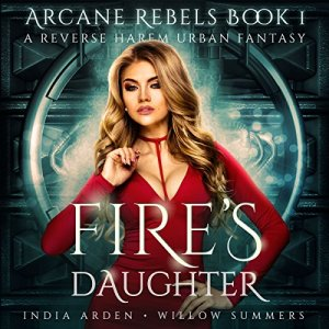 Fire's Daughter audiobook cover art