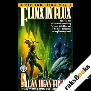 Flinx in Flux audiobook cover art