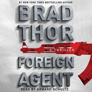 Foreign Agent audiobook cover art