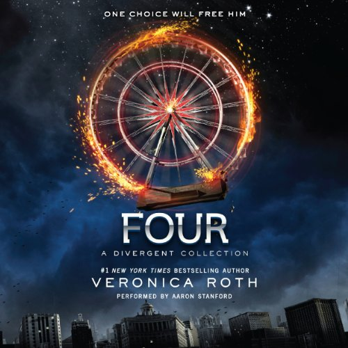 Four audiobook cover art