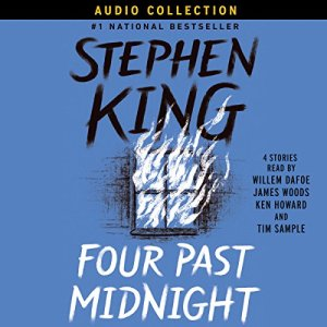 Four Past Midnight audiobook cover art