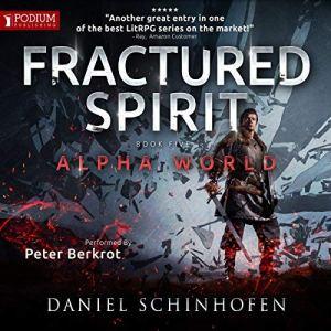 Fractured Spirit audiobook cover art