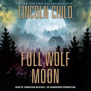 Full Wolf Moon audiobook cover art