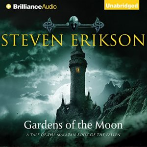 Gardens of the Moon audiobook cover art
