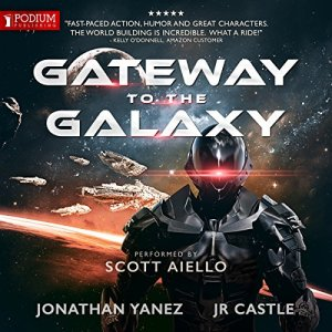 Gateway to the Galaxy audiobook cover art