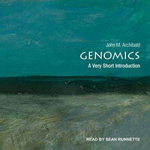 Genomics audiobook cover art
