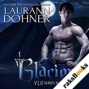 Glacier audiobook cover art