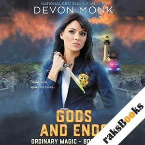 Gods and Ends audiobook cover art