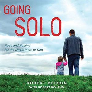 Going Solo audiobook cover art