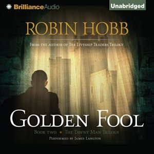 Golden Fool audiobook cover art