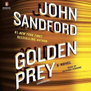 Golden Prey audiobook cover art