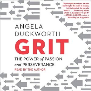Grit audiobook cover art