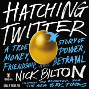 Hatching Twitter audiobook cover art