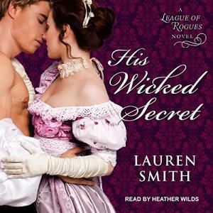 His Wicked Secret audiobook cover art
