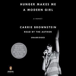 Hunger Makes Me a Modern Girl audiobook cover art