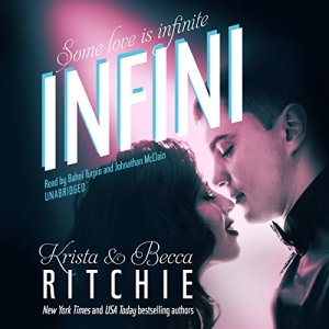 Infini audiobook cover art