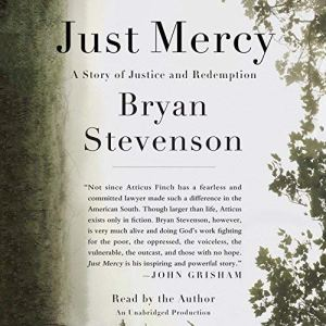 Just Mercy audiobook cover art