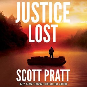 Justice Lost audiobook cover art