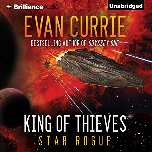 King of Thieves audiobook cover art