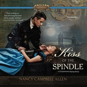 Kiss of the Spindle audiobook cover art