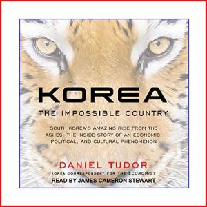 Korea audiobook cover art