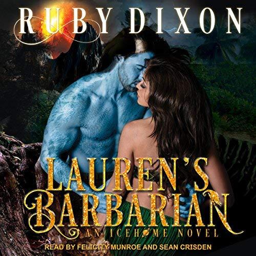 Lauren's Barbarian: A SciFi Alien Romance audiobook cover art
