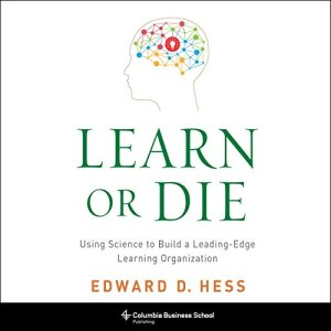 Learn or Die audiobook cover art