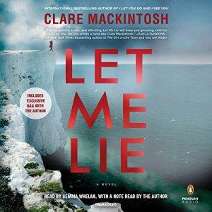 Let Me Lie audiobook cover art