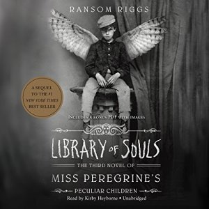 Library of Souls audiobook cover art