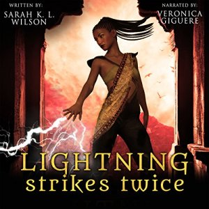 Lightning Strikes Twice  audiobook cover art