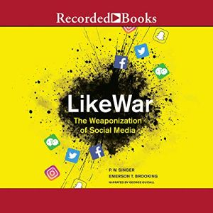 LikeWar audiobook cover art