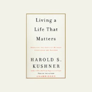 Living a Life That Matters audiobook cover art
