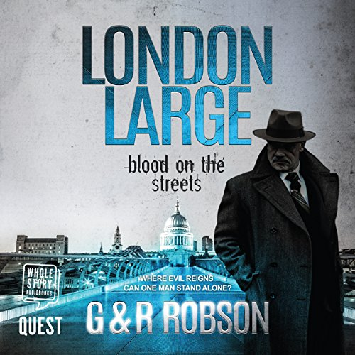 London Large: Blood on the Streets audiobook cover art