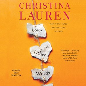 Love and Other Words audiobook cover art